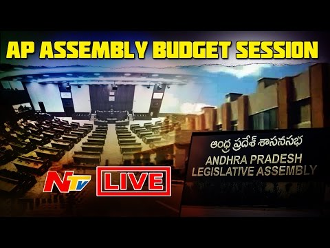 AP Assembly Sessions LIVE    Discussion on Budget Sessions & Polavaram Project    28-03-2017    NTV (видео)