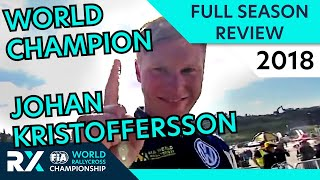World RX Champion Kristoffersson! | Highlights | World Rallycross 2018