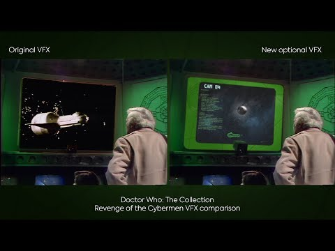 DOCTOR WHO The Collection Season 12 Revenge Of The Cybermen Blu-Ray VFX Comparison