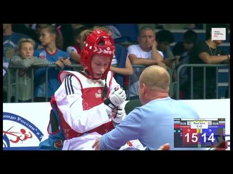 Анна Казарновская - серебряный призёр первенства Европы по тхэквондо