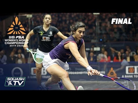 Squash: CIB PSA Women's World Champs 2019/20 - Final - El Welily v El Sherbini