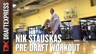 Nik Stauskas Pre-Draft Workout and Interview