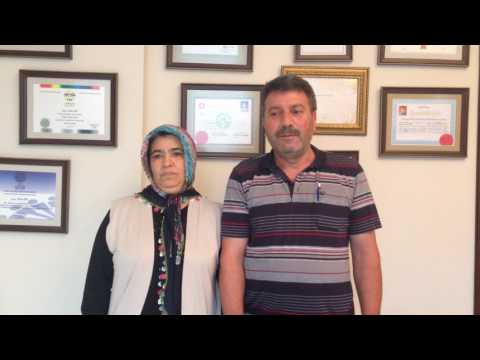 Halime Deliosmanoğlu - Beyin Tümörü Hastası - Prof. Dr. Orhan Şen