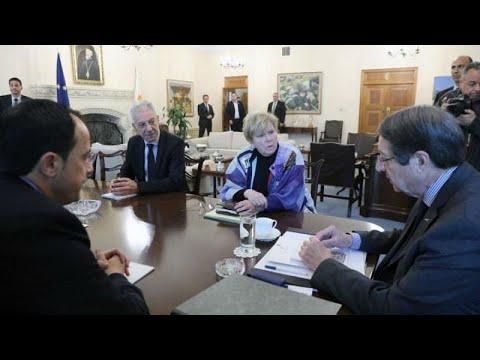 Κύπρος: Συνάντηση Αναστασιάδη – Λουτ