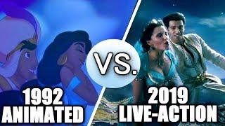 Video Aladdin (1992 vs 2019) - Song Comparison MP3, 3GP, MP4, WEBM, AVI, FLV Juni 2019