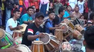 Parade Kendang Jaipong -Pati Jaipong Rampak (PAJAR)-Acara BukBer Bolo Bengi-Depan Pasar Wedarijaksa