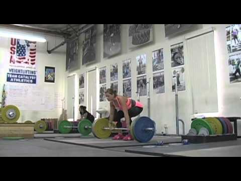 weightlifting - Weightlifting training footage of Catalyst weightlifters. Jessica snatch balance + snatch grip sots press bnk, Tamara snatch deadlift + snatch + OHS, Alyssa ...