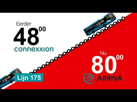 Prijspakker: Busabonnement Arriva