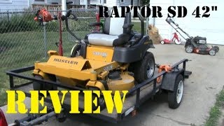 1. Hustler Raptor SD Mower Review | Lansing Lawn Service