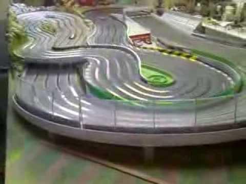Amazing slot wood track . Pista de slot de madera