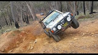 Avoca (VIC) Australia  city photos gallery : Pyrenees 4x4 Old Bluff Challenge (2 Jeep vs 2 Toyota vs 2 Nissan)