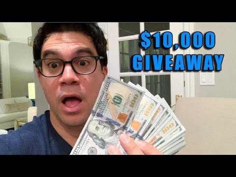 ‪$10,000 Giveaway‬‏