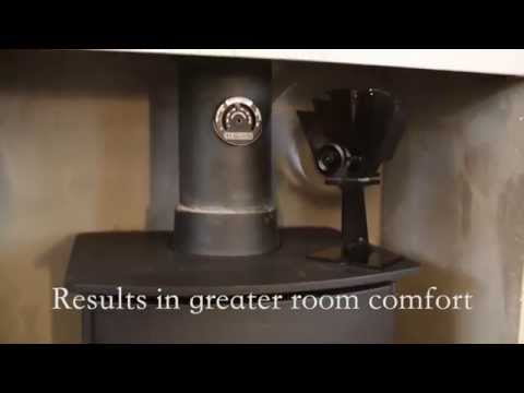 Cosystove 4 Blade Heat Powered Stove Fan