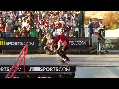 Dew Tour - Chaz Ortiz Wins Skate Park + Highlights - Salt Lake City 2010