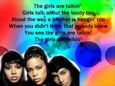 TLC-Girl Talk (lyrics)