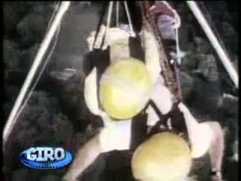 Vídeo Show: Glória Maria revive matéria em salto de asa delta