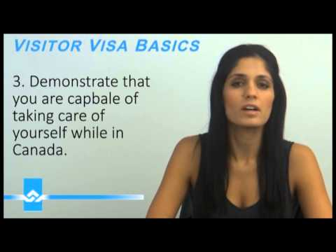 Visitor Visa Basics Video