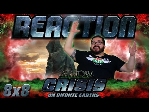 "Arrow 8x8 REACTION!! ""Crisis on Infinite Earths: Part Four"""