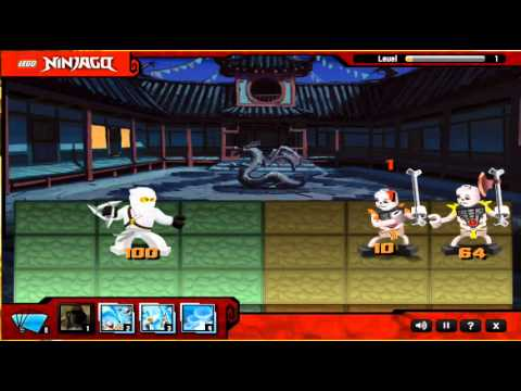 ninjago hry - Use your Ninja powers to defeat the Skeleton Army! In this game from Lego, choose one of the 4 ninjas and battle the skeletons in different stories and modes...