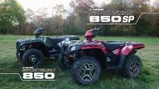 10. 2015 Polaris : Sportsman 850 SP vs. Yamaha Grizzly 700 SE