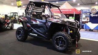 10. 2016 Polaris RZR 900 XC Side by Side ATV - Walkaround - 2015 St Hyacinthe ATV Show