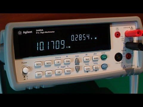 Agilent 34405 A - Digital Multimeter 5,5 Digit