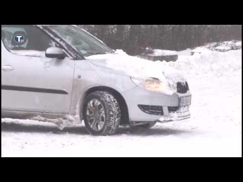Lančani sudar i mećava u Nišu i sneg na putu od Niša do autoputa