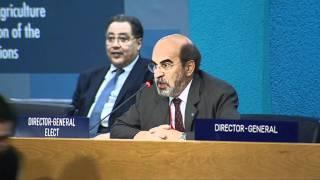 José Graziano da Silva of Brazil elected FAO Director-General