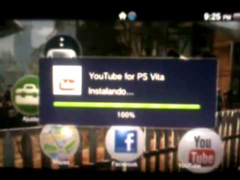 Descargar Facebook y Youtube para Ps Vita