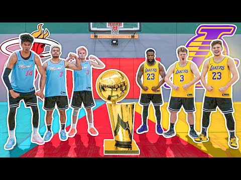 2HYPE Heat vs Lakers NBA Finals Challenges