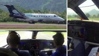 Angra Dos Reis Brazil  City new picture : Legacy 500 - Short Landing (Angra dos Reis-RJ Brazil)