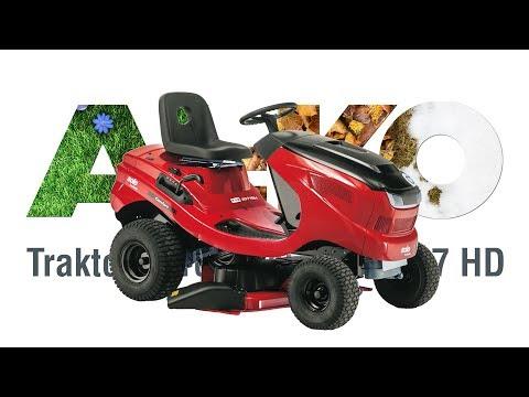 Садовый трактор SOLO by AL-KO T 13-93.7 HD с травосборником - видео №1