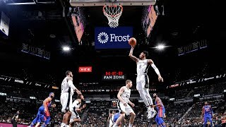 NBA PS  Detroit Pistons vs San Antonio Spurs   Oct 5,  2018