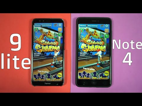 Honor 9 Lite vs Redmi Note 4 Speed Test, Memory Management test and Benchmark Scores