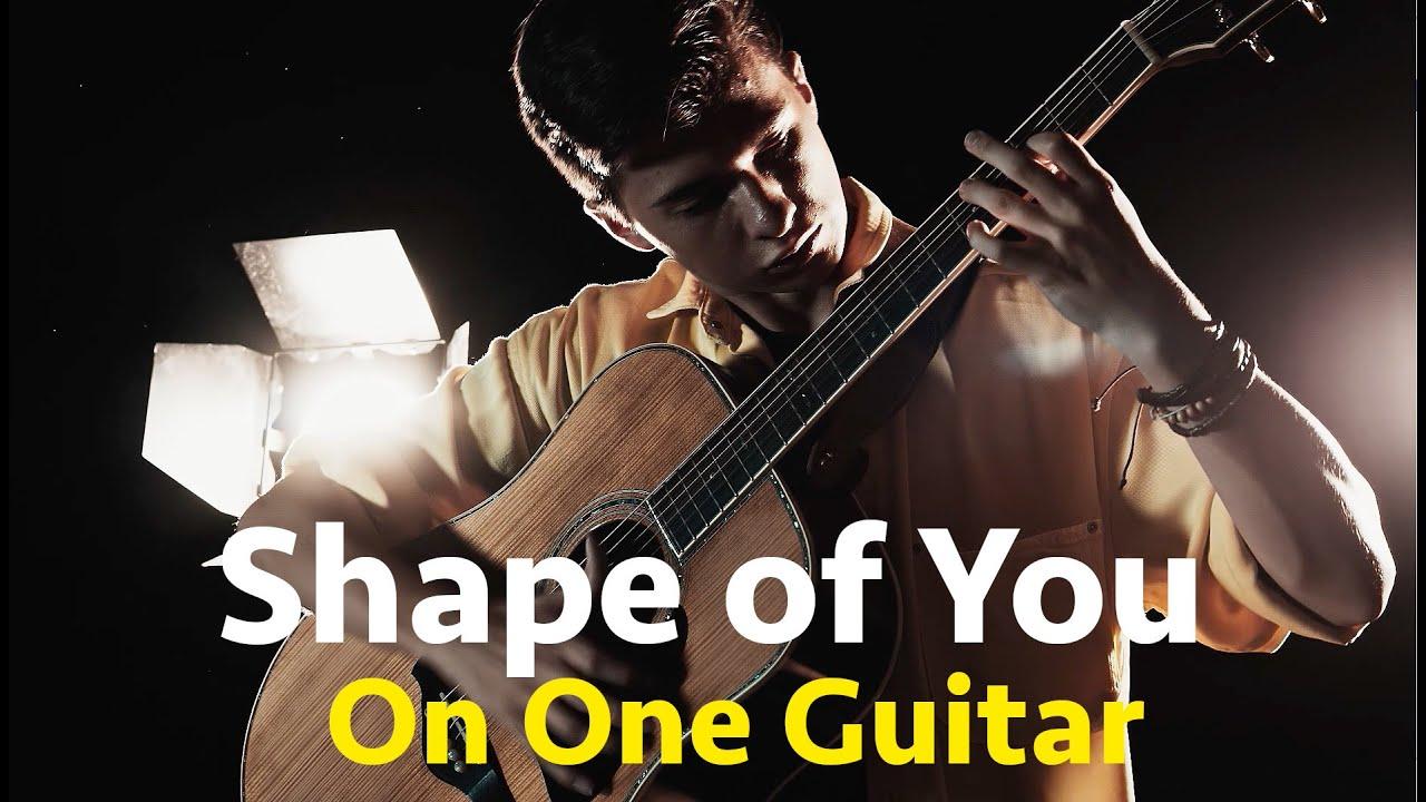 Shape of You – Marcin Patrzalek (Ed Sheeran) – Fingerstyle Acoustic Guitar