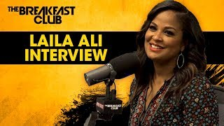 Video Laila Ali Talks Her Love For Food Before Boxing, Her New Book + More MP3, 3GP, MP4, WEBM, AVI, FLV Januari 2018