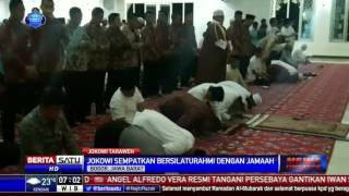 Video Jokowi Kejutkan Jemaah Salat Tarawih di Masjid Andalusia MP3, 3GP, MP4, WEBM, AVI, FLV Mei 2018
