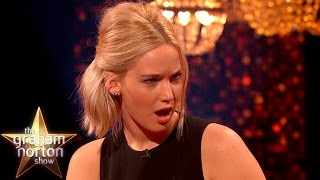 Jennifer Lawrence Shocked By Eddie Redmayne's Early Model Photos - The Graham Norton Show