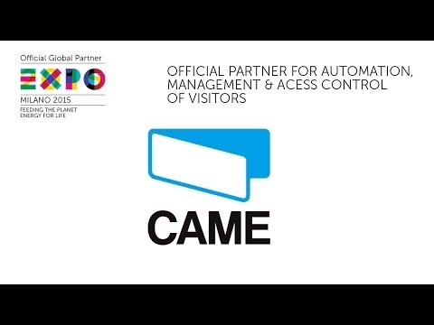 Official Partner Expo Milano 2015: CAME