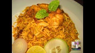 "Hyderabadi Chicken Biriyani Step by Step-Chicken Biryani Restaurant Style హైద్రాబాదీ చికెన్ బిరియానిLearn how to make mouth watering and tempting Chicken Biryani at home Biryani is prepared using fragrant rice(Basmati Rice), aromatic spices and chicken.-~-~~-~~~-~~-~-Please watch: ""How to make easy and tasty crispy Chicken Fry/Chicken Fry recipe in Telugu (Restaurant style)"" https://www.youtube.com/watch?v=Uac_2tHBs2I-~-~~-~~~-~~-~-"