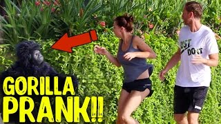 Video GORILLA PRANK INDONESIA! Yudist Ardhana Pranks in Bali. MP3, 3GP, MP4, WEBM, AVI, FLV Mei 2017