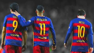 Messi ,Suarez ,Neymar - Skills ,Goals, Assists 2015-2016 - Coop with MNcompsJR (https://www.youtube.com/channel/UCKPp.