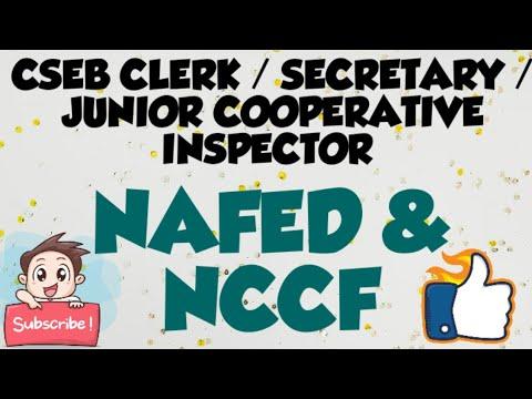 NAFED | NCCF | CSEB CLERK | JCI | KSCB CLERK | KSCARDB ASSISTANT