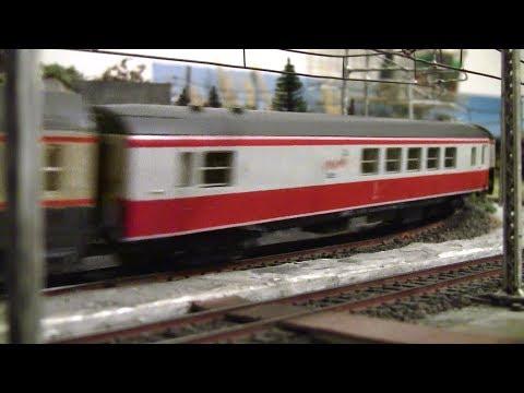 Treno speciale con ristorante Italy Express [fermodellismo scala H0]