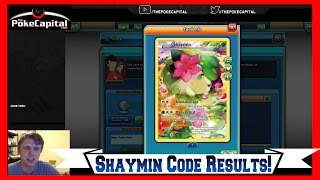 What Do You Get With the Shaymin Mythical Pokemon Collection PTCGO Code? by ThePokeCapital
