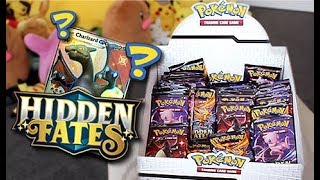 Pokemon *Hidden Fates* Booster Box Opening!!! by Unlisted Leaf