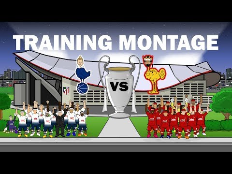 🏆SPURS Vs LIVERPOOL: Training Montage🏆 Champions League Final 2019 Preview