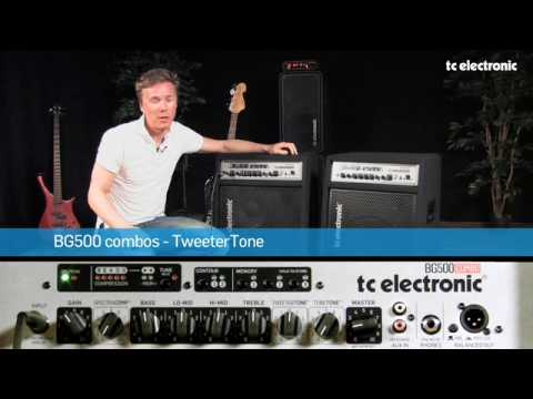 TC Electronic BG500 Bass Combos - TweeterTone