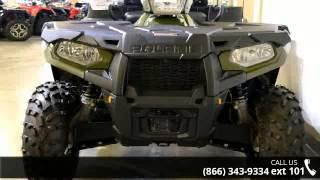 7. 2015 Polaris Sportsman X2 570 EPS Sage Green  - RideNow P...