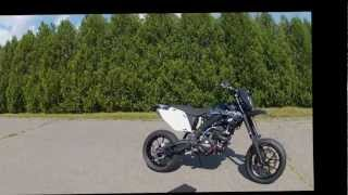 7. 2006 Honda CRF 450R Street Legal Supermoto  1080HD